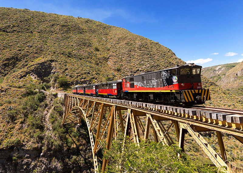 Ecuador Train Expedition